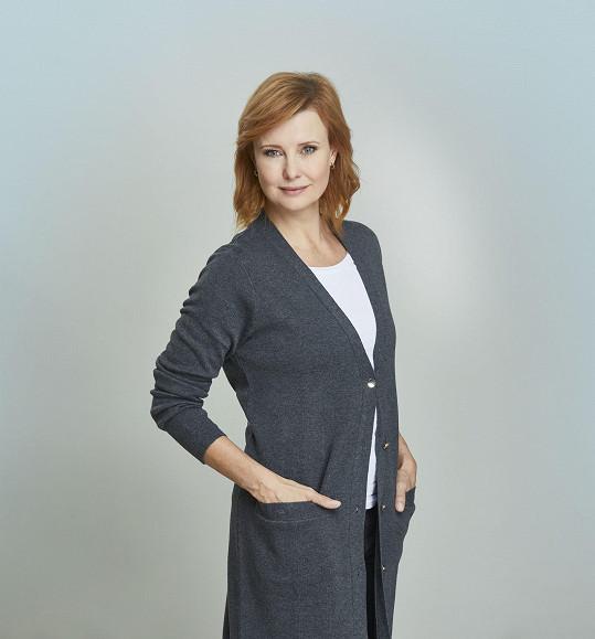 Jitka Schneiderová hraje jednu ze zdravotních sester v seriálu Anatomie života.