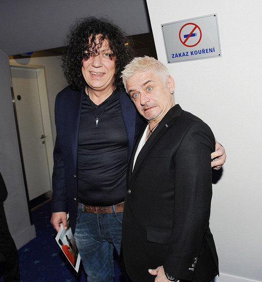 Michal s kolegou Richardem Genzerem