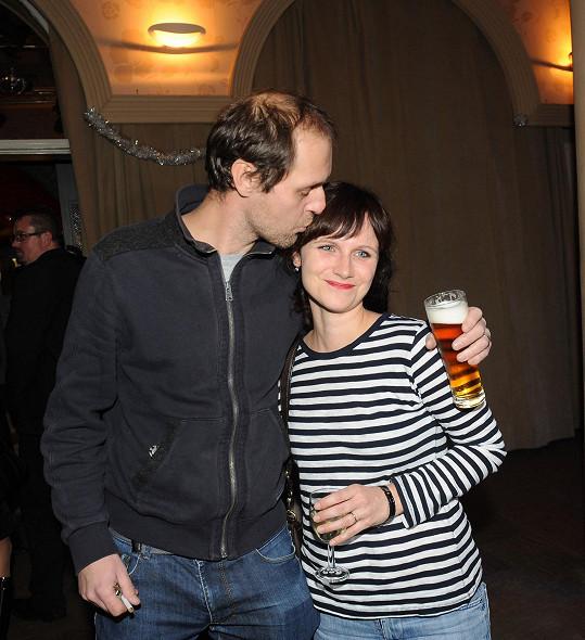 S manželem režisérem Jaroslavem Fuitem