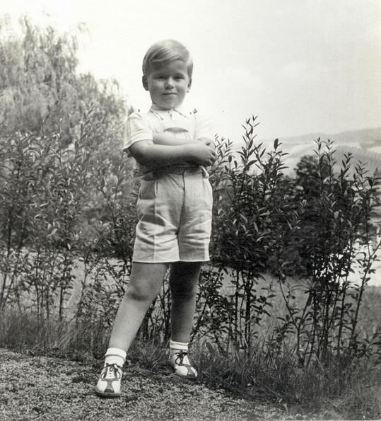 Budoucí prezident byl roztomilý blonďáček.