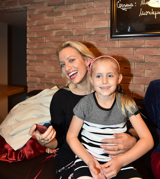 Tereza Mátlová s dcerou Emilkou