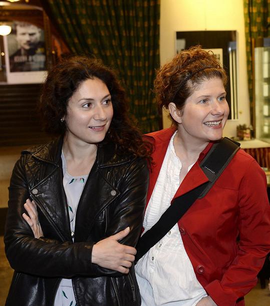 Martha s režisérkou Alicí Nellis