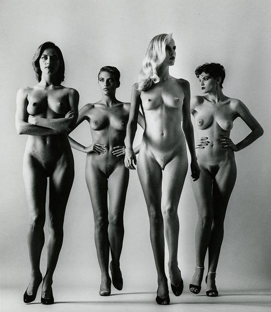 Jedna z nejslavnějších fotek Helmuta Newtona.