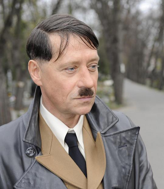Pavel Kříž je prý za roli diktátora rád a bere ji jako výzvu.