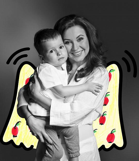 S dětmi pózovala také Dana Morávková...