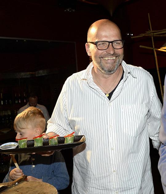 Zdeněk Pohlreich chce také zhubnout.