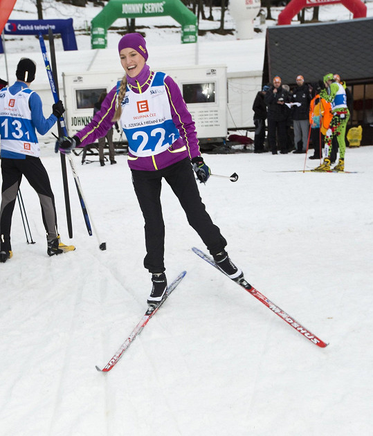 Veronika Procházková ve stopě
