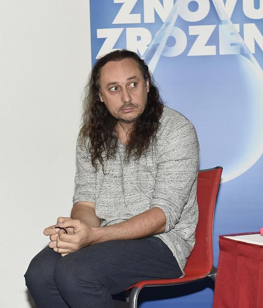 Marian Vojtko ještě s dlouhými vlasy, které nosil od patnácti let.
