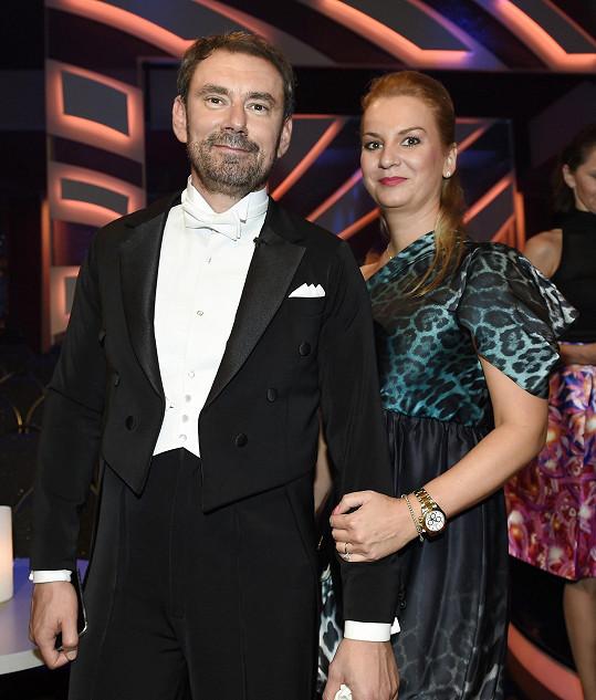 Emanuele s manželkou Janou