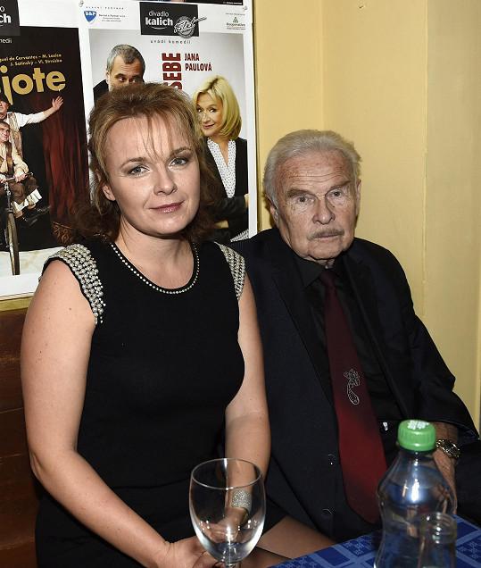 S dcerou Bárou, která je taktéž herečkou.
