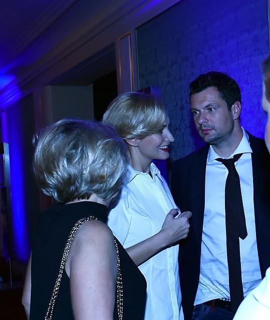 S Tomášem už se zná i zpěvaččina maminka Blanka.
