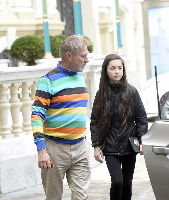Zdeněk Merta s dcerou Ester