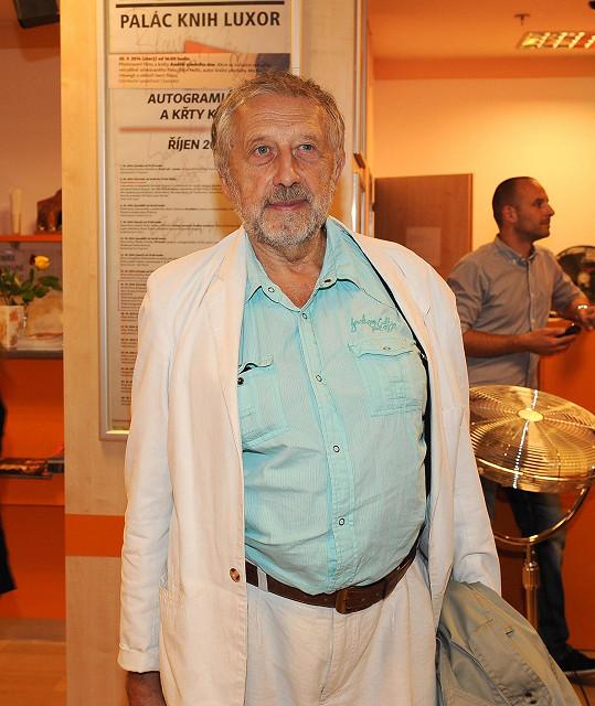 Poprvé od smrti kamaráda Petra Skoumala přišel i Jan Vodňanský.