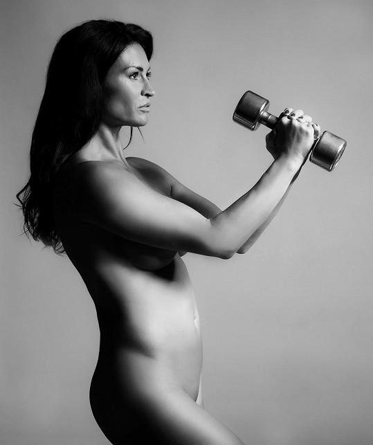 Hanka chce novými fotkami motivovat ženy před padesátkou.