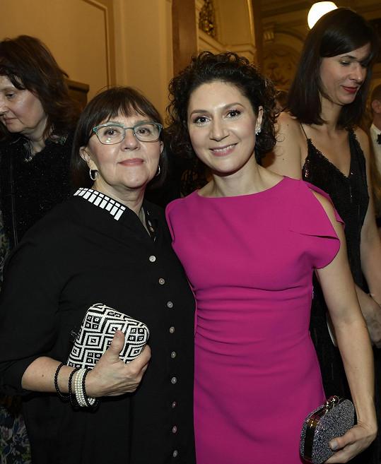 Herečka s maminkou Lenkou Termerovou