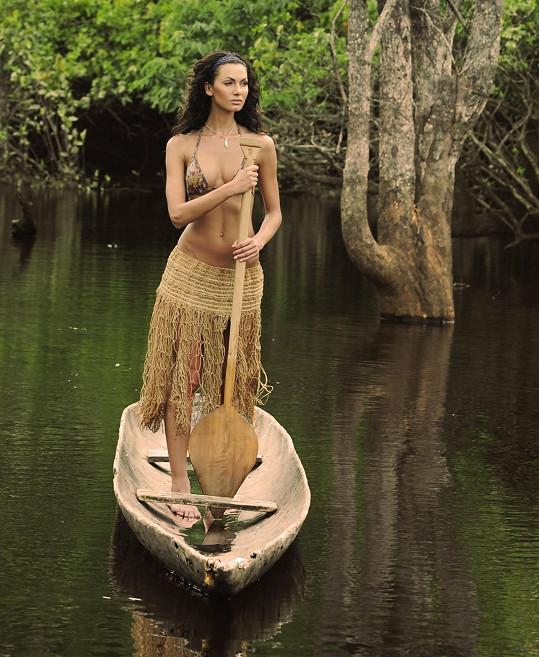 Eliška si největší les světa zamilovala.