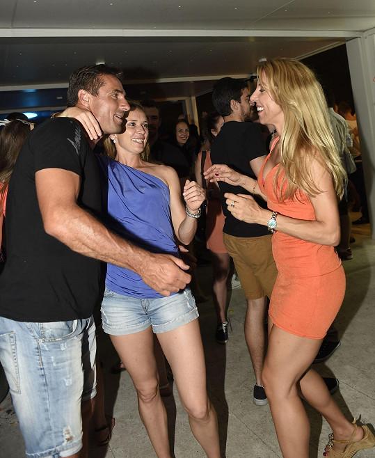 Roman Šebrle tanec miluje.