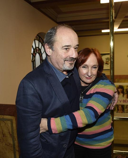 S režisérkou Lucií Bělohradskou jsou dlouholetí přátelé.