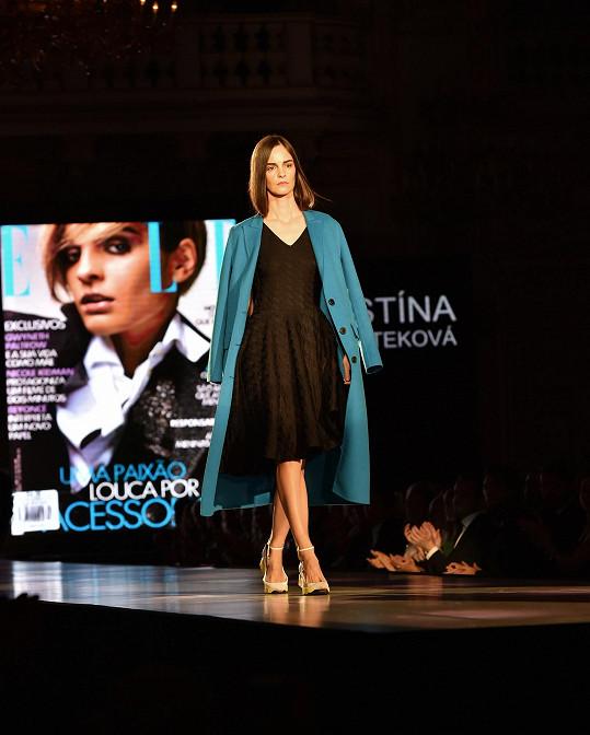 Kristína Chrasteková se jako první Slovenka objevila na titulní straně Vogue Italia a je první modelka, která zároveň nafotila kampaně Prada a Miu Miu.