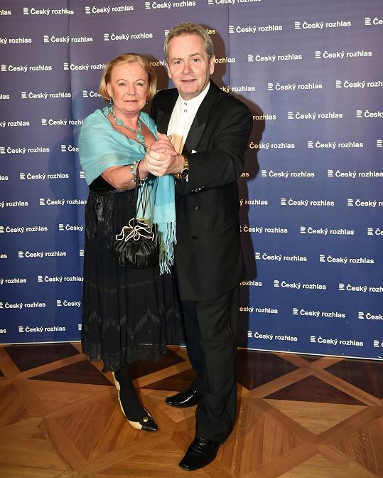 Saša Hemala s manželkou