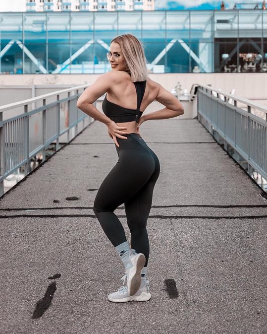 Martina Marková se místo tance věnuje fitness.