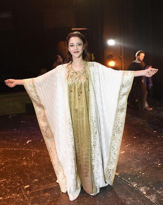 Eva Burešová jako královna Sibyla