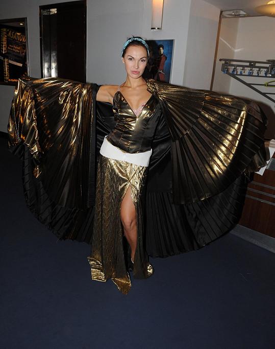 Kamila Nývltová bude hrát Kleopatru.