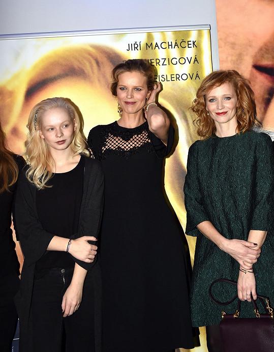 S kolegyněmi Aňou Geislerovou a Aničkou Linhartovou