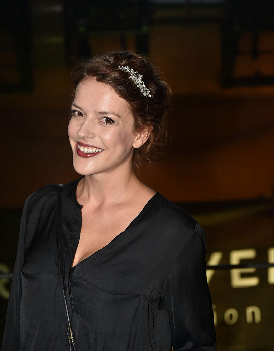 Část léta strávila herečka v Provence.