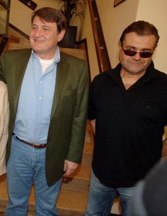 S legendárním hitmakerem Karlem Svobodou