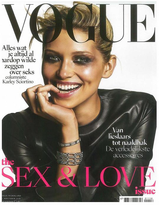 Nizozemský Vogue věnoval Hance celé číslo.