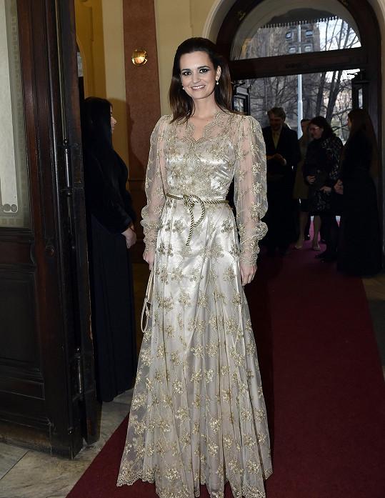 Daniela Písařovicová chtěla vypadat jako princezna.
