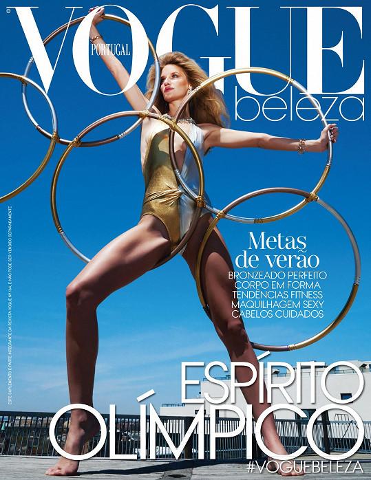 Obálka portugalské mutace magazínu Vogue