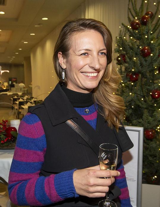Anna Polívková na premiéře filmu Ženská na vrcholu v tatranské Jasné