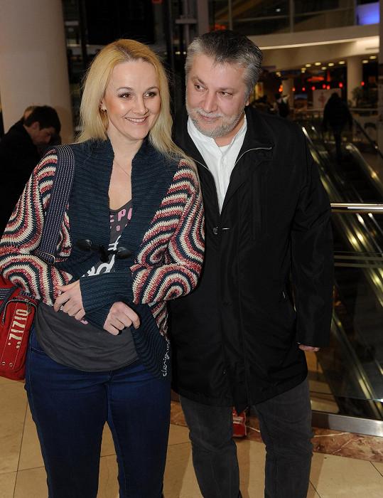 S darujícím Milanem Vovesem