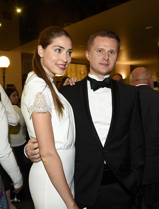 Denisa s přítelem Vítkem.