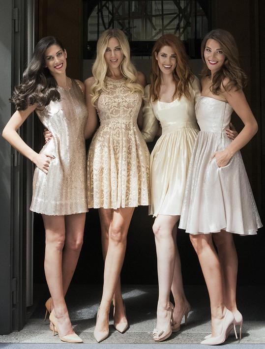 V Praze natáčela s dalšími kráskami spot pro Svět modelek.