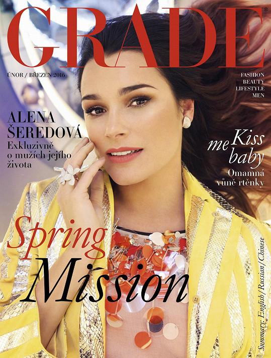 Česká kráska na titulní stránce