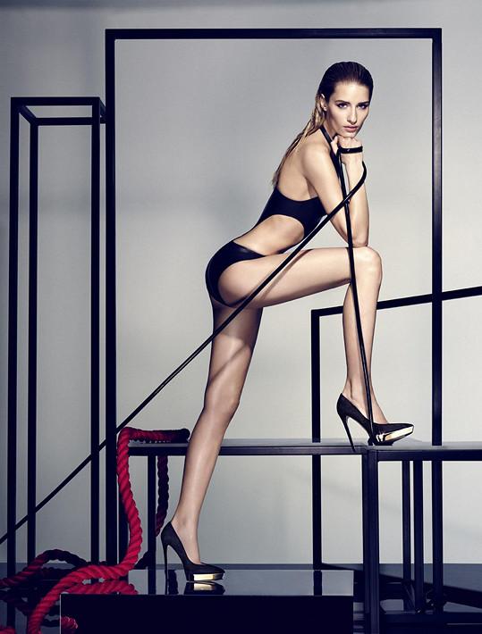 Modelka stále patří ke špičce.