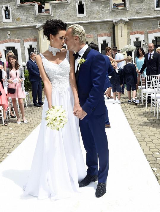 S manželem Jiřím Wohlmannem