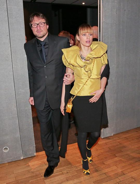 Pavla Charvátová s manželem Tomem Charvátem