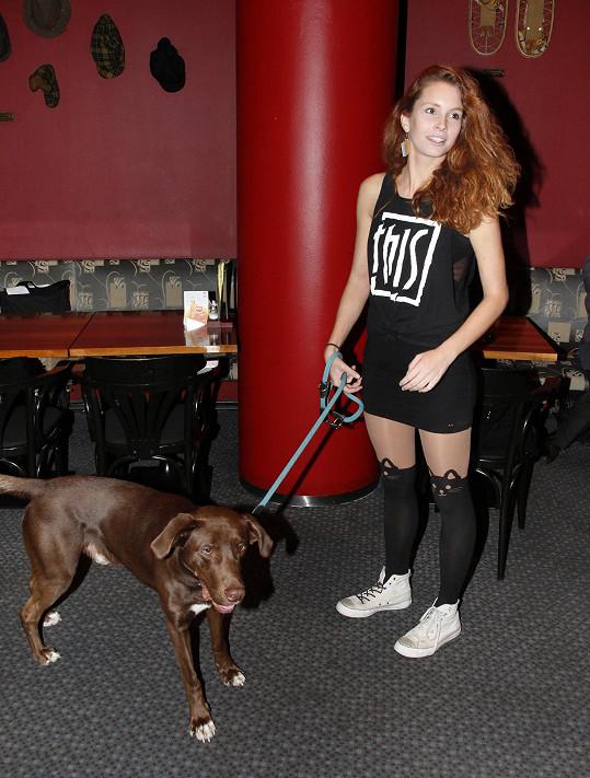 Denisa si psa pořídila v útulku.