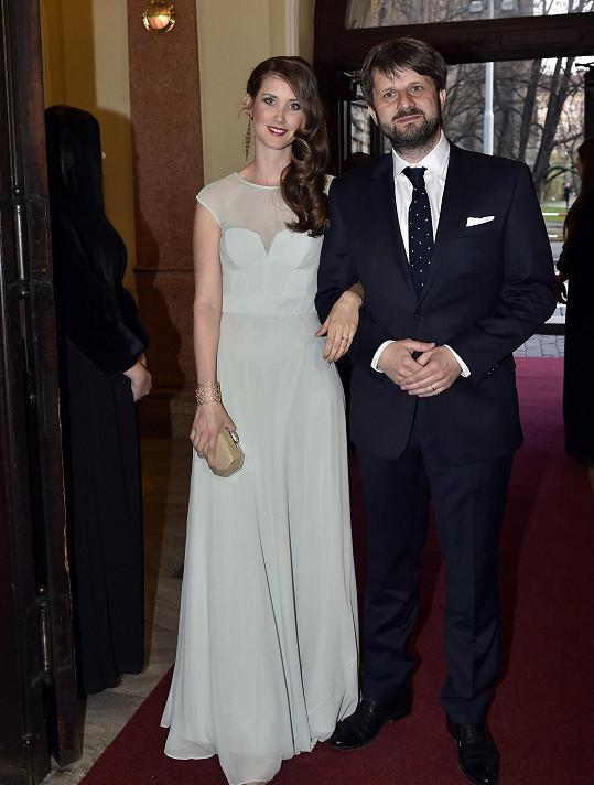 Jana Bernášková s manželem