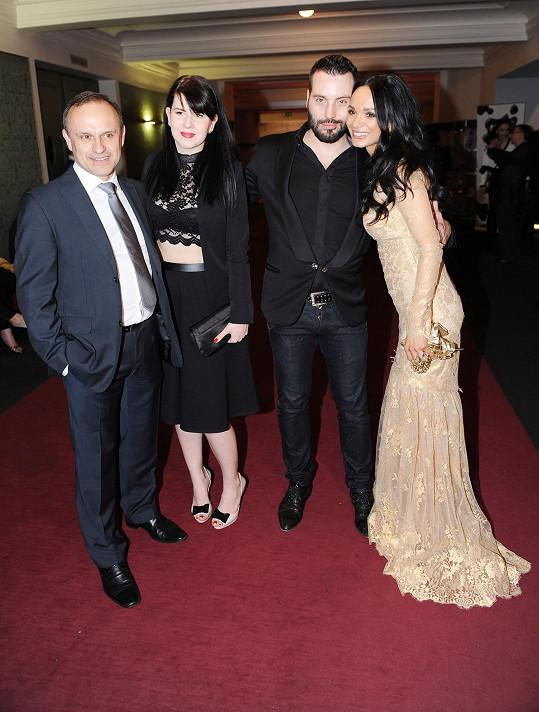S manželi Bártovými na premiéře Draculy