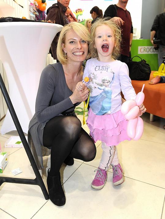 Kristina s dcerou Jasmínkou