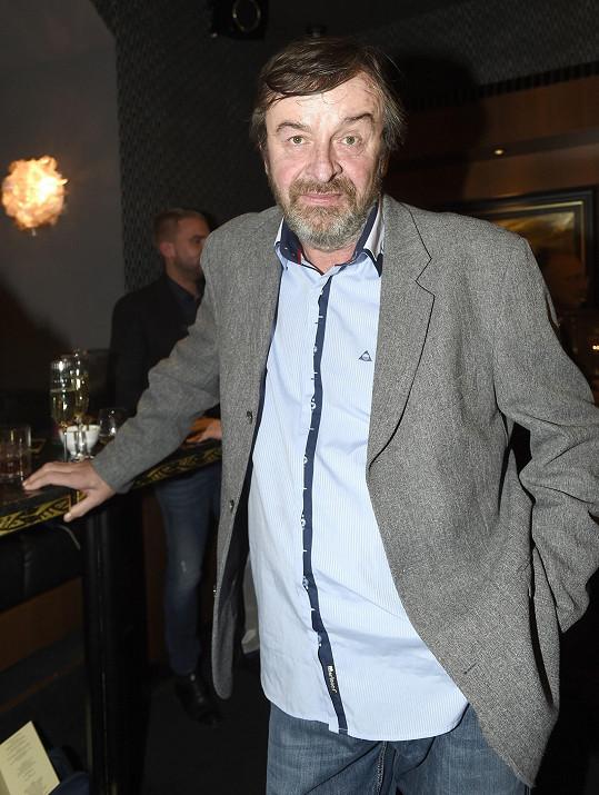 Alexej Pyško na oslavě koktejlového baru
