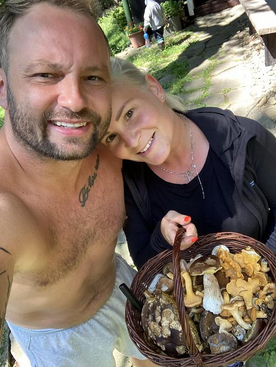 S manželkou Terezou