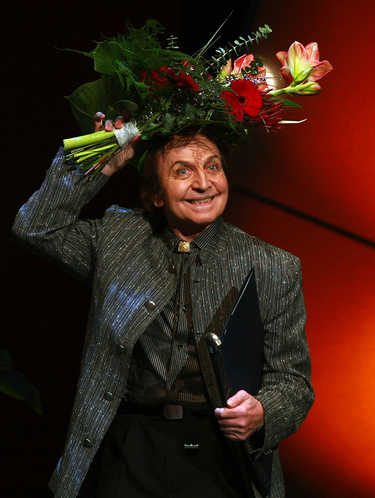 Jaroslav Čejka se proslavil jako skvělý mim, tanečník a choreograf.