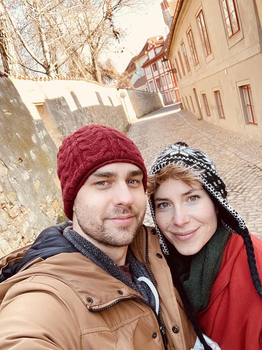 Čerstvé partnerské selfie