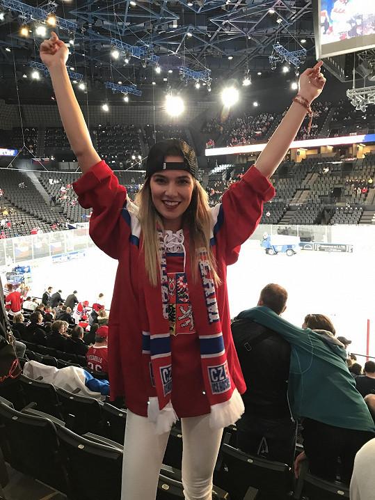 Andrea vyrazila na Mistrovství světa do Paříže.